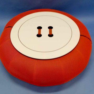 MESA ARO con tablero botón NARANJA