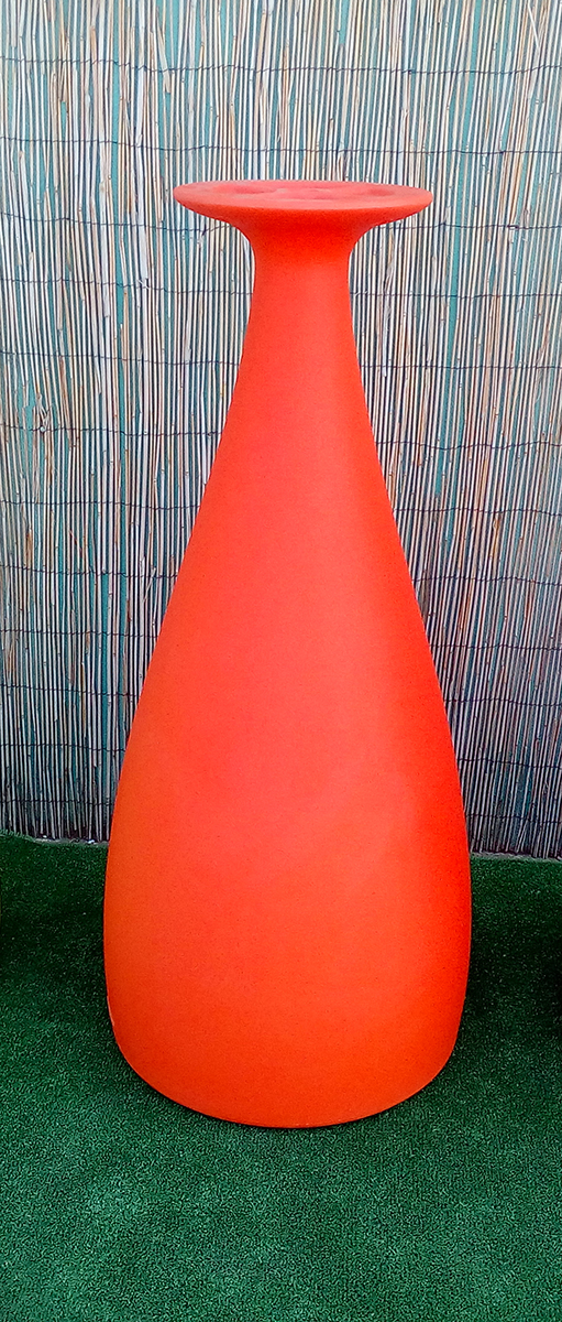 Pie Mesa Apolo Alto Naranja – Stock 18 unid NUEVO