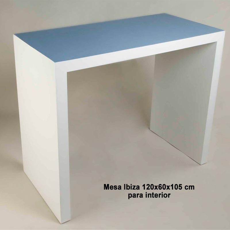 MESA ALTA INTERIOR 120x60x105