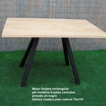 MESA ONDARA TABLERO PINO 70×110