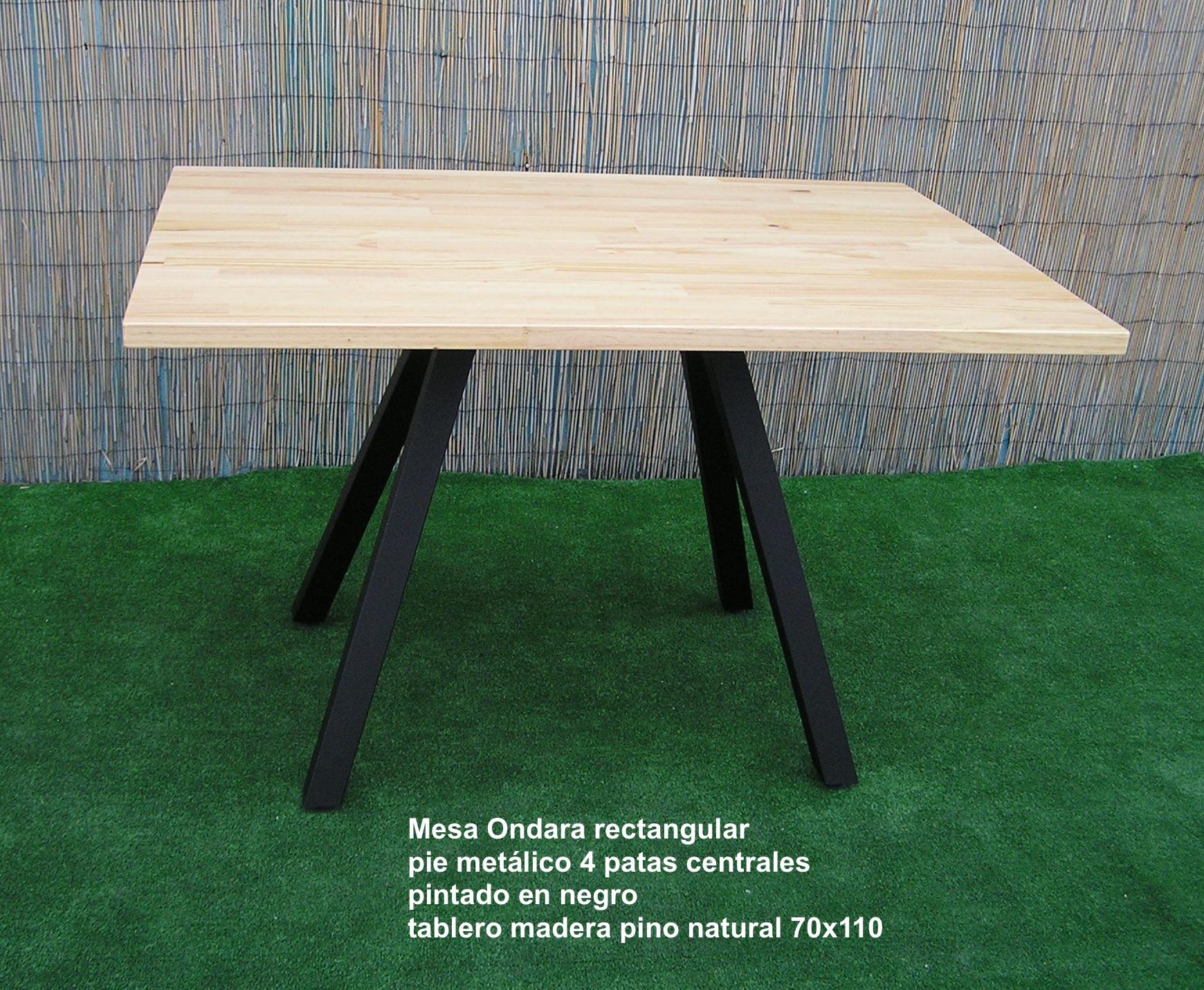 Mesa Ondara rectangular