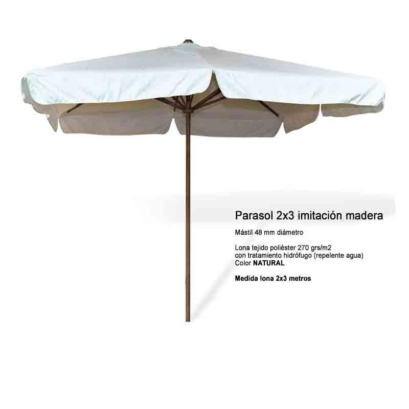 PARASOL imad 2×3 natural
