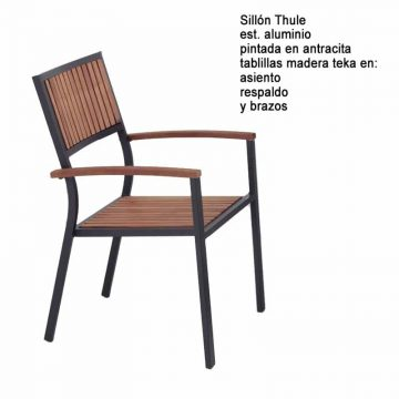 SILLON THULE ALUMINIO TEKA